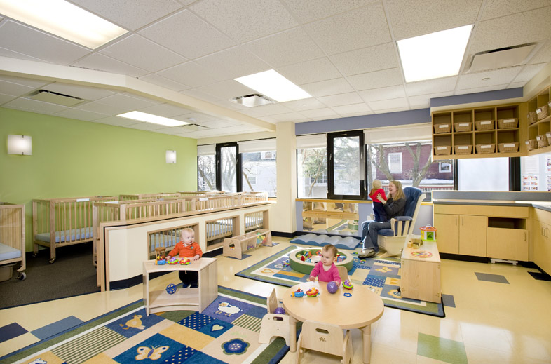 kaplan construction completes child care center for bright