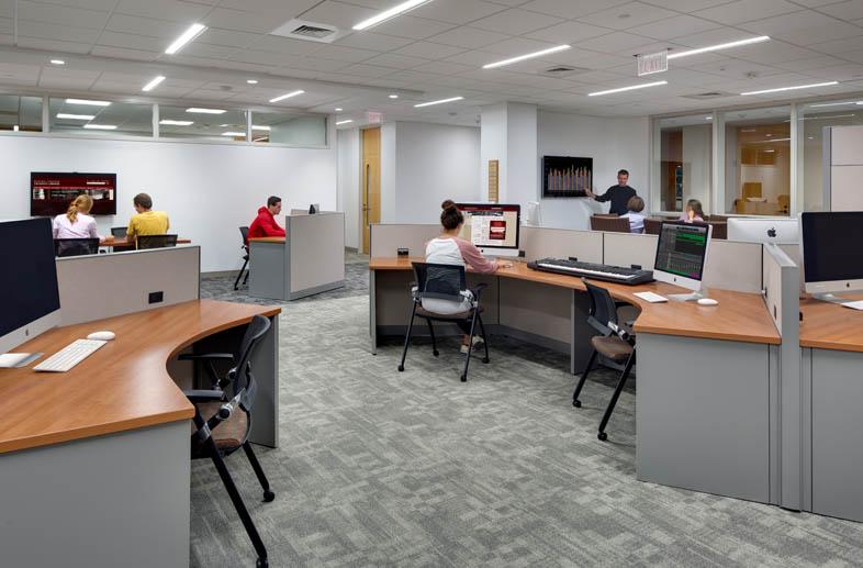 Boston College O'Neill Library Interior