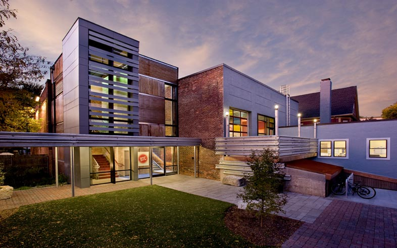 Brookline Teen Center, Brookline, Mass. | Photo credit: Shelly Harrison Photography