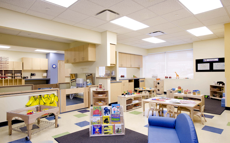 Kaplan Classroom Design : Kaplan construction manages two child care center