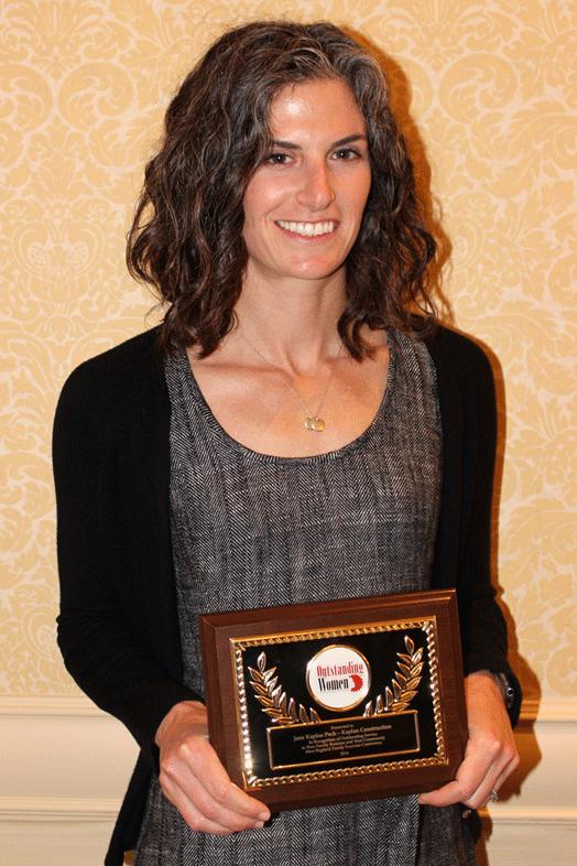 Jane Kaplan Peck - Outstanding Woman Award Photo credit: Amanda Martocchio, The Warren Group