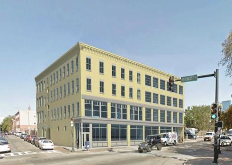 2101 Washington Street Rendering (credit: DHK Architects)