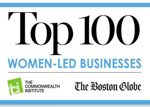 Top 100 Women-Led Business Logo