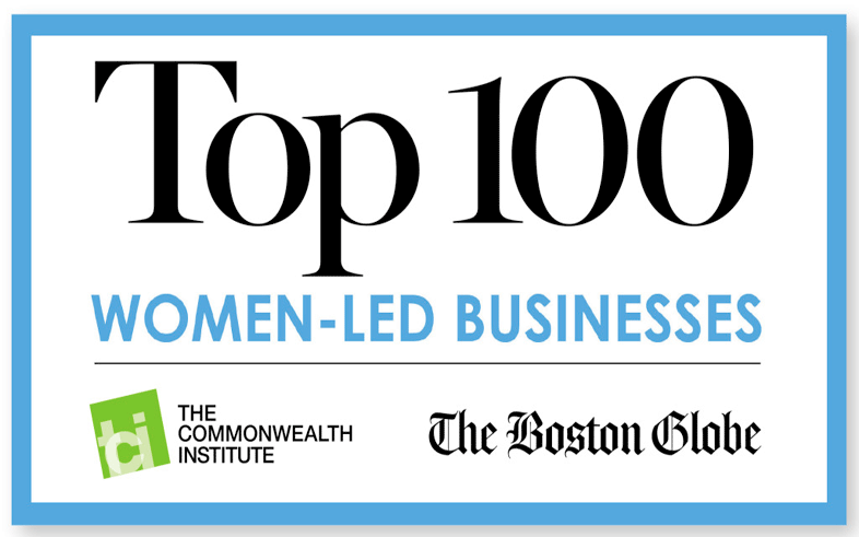 Top 100 Women-Led Business Logo