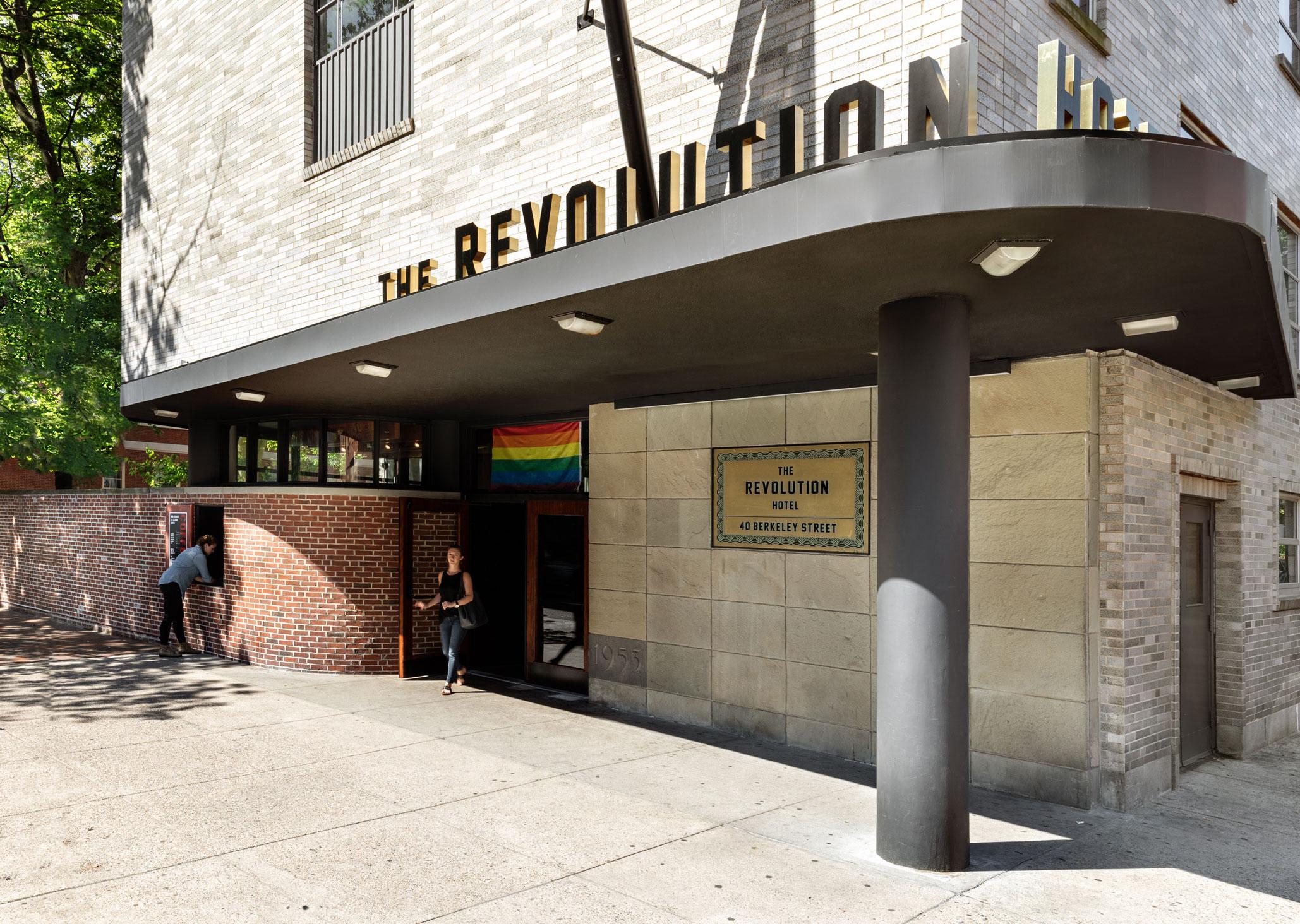 Revolution Hotel Entrance