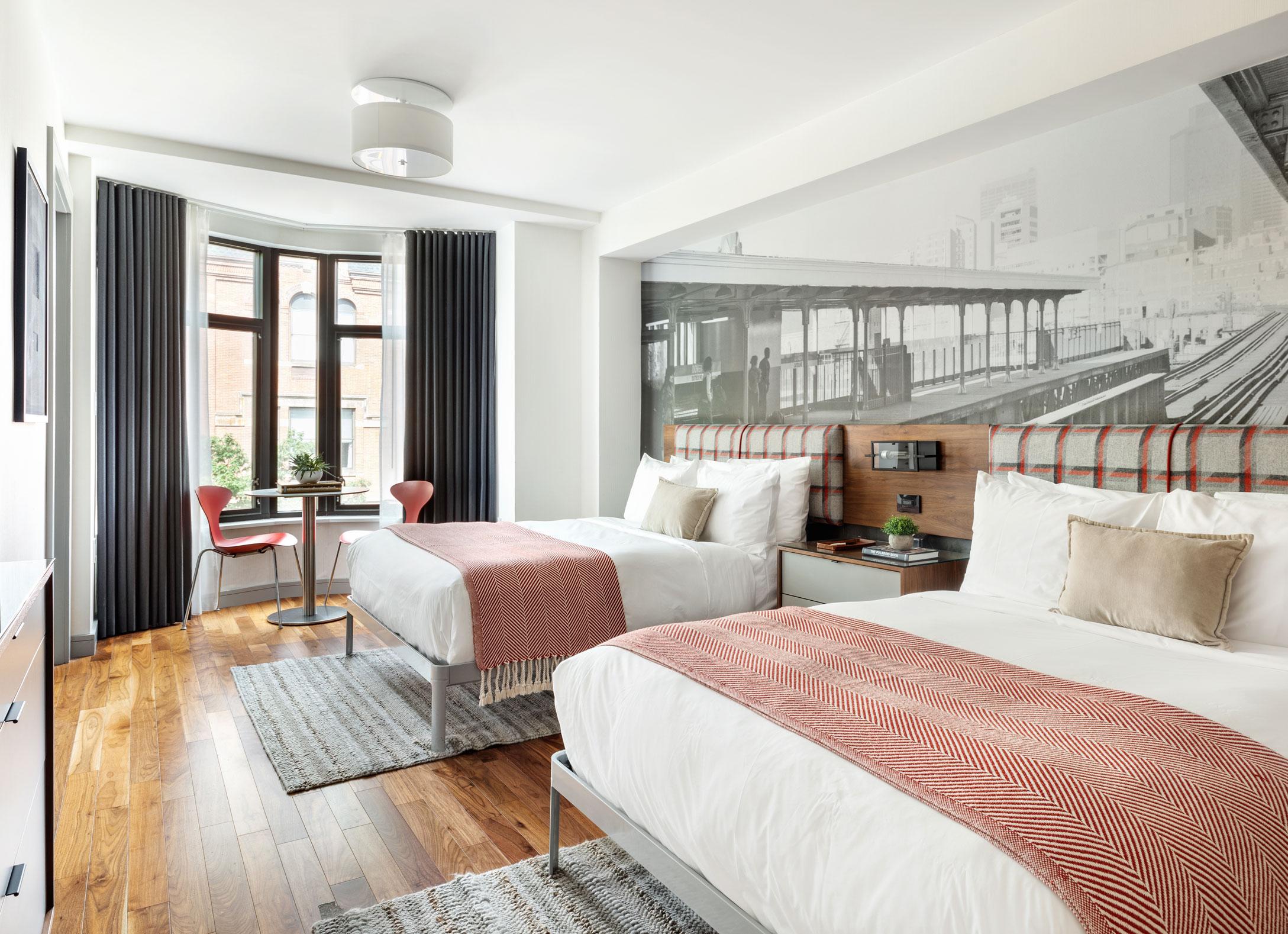 Revolution Hotel Room