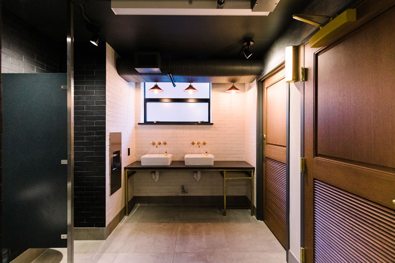 Revolution Hotel Bathroom