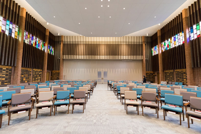 Congregation Beth Israel Sanctuary Back
