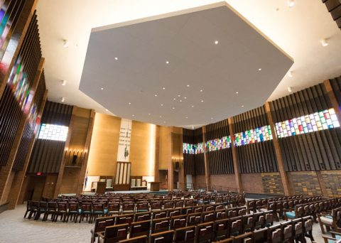 Congregation Beth Israel Sanctuary Ceiling