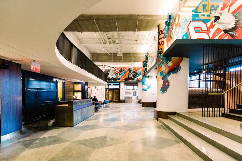 Revolution Hotel Lobby