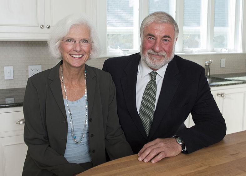Ken & Cathy Kaplan Credit: Frank Monkiewicz