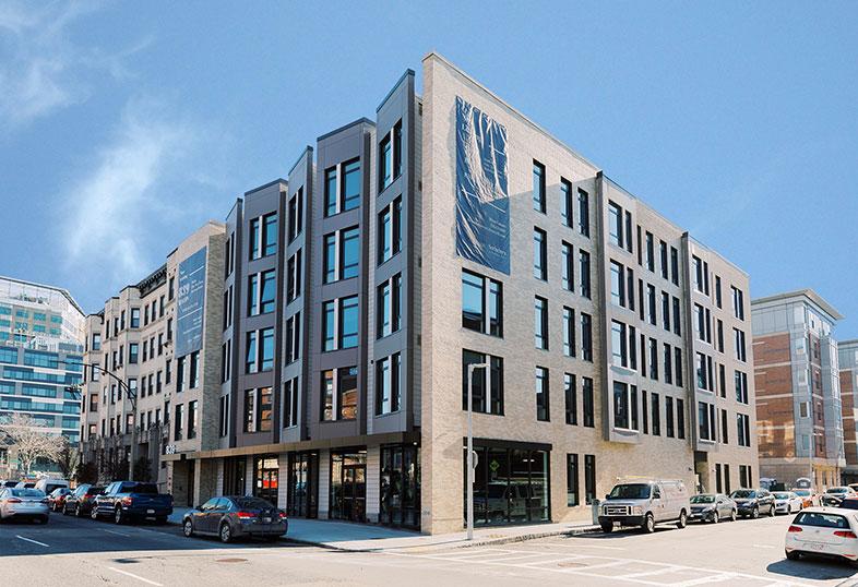 839 Beacon Street Exterior
