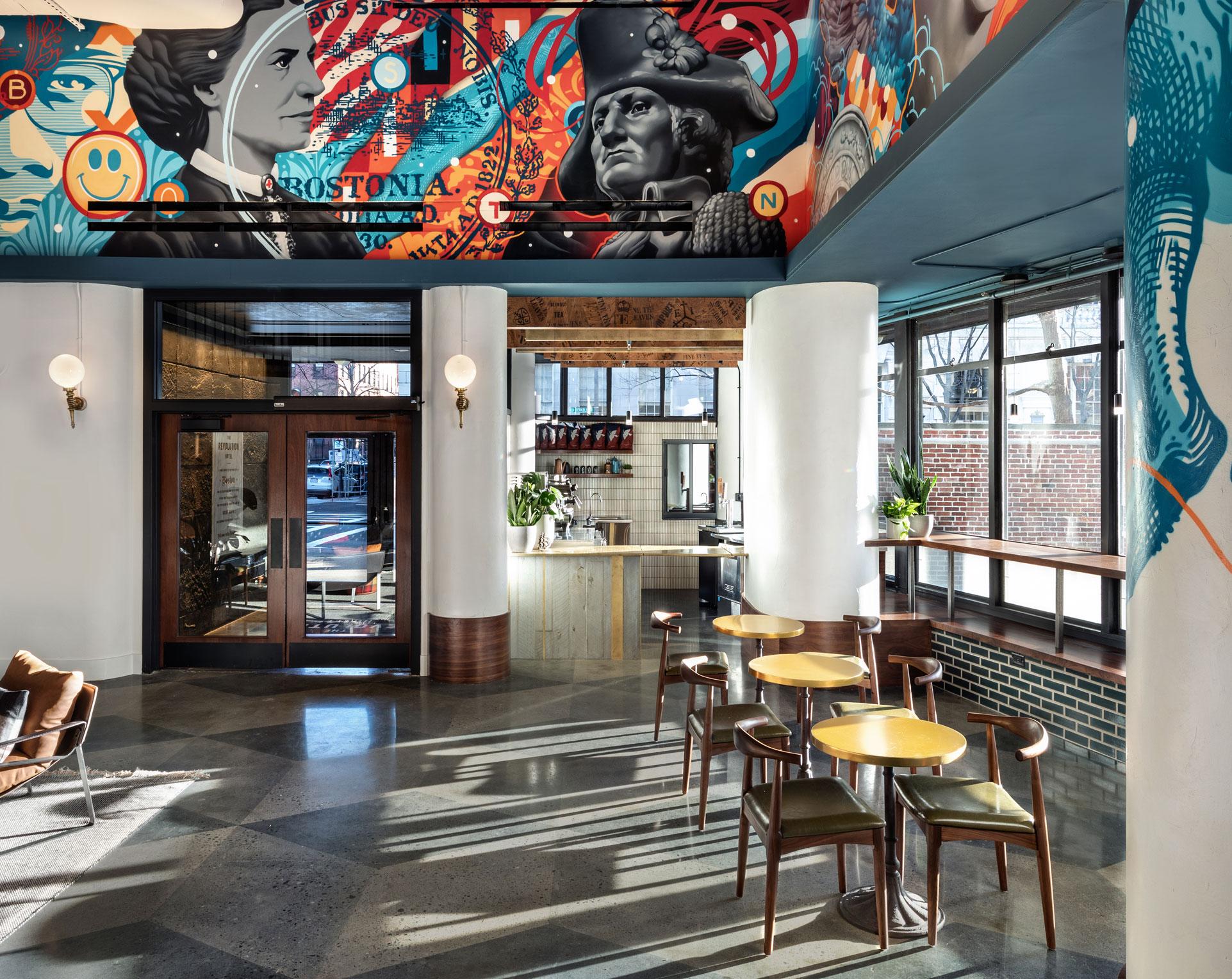 Revolution Hotel Lobby2
