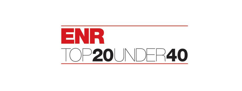 ENR Top 20 Under 40 Logo