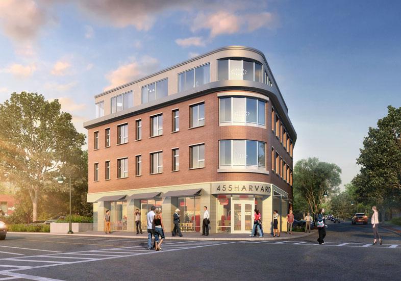 455 Harvard Street Rendering Credit: CUBE 3
