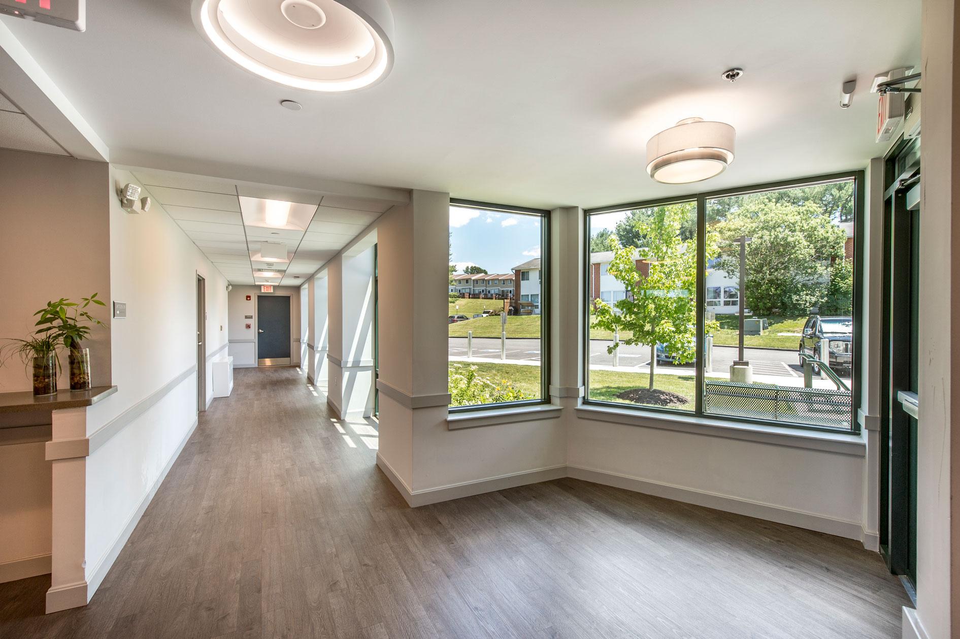 Holyoke Farms 2nd Floor Residence Corridor
