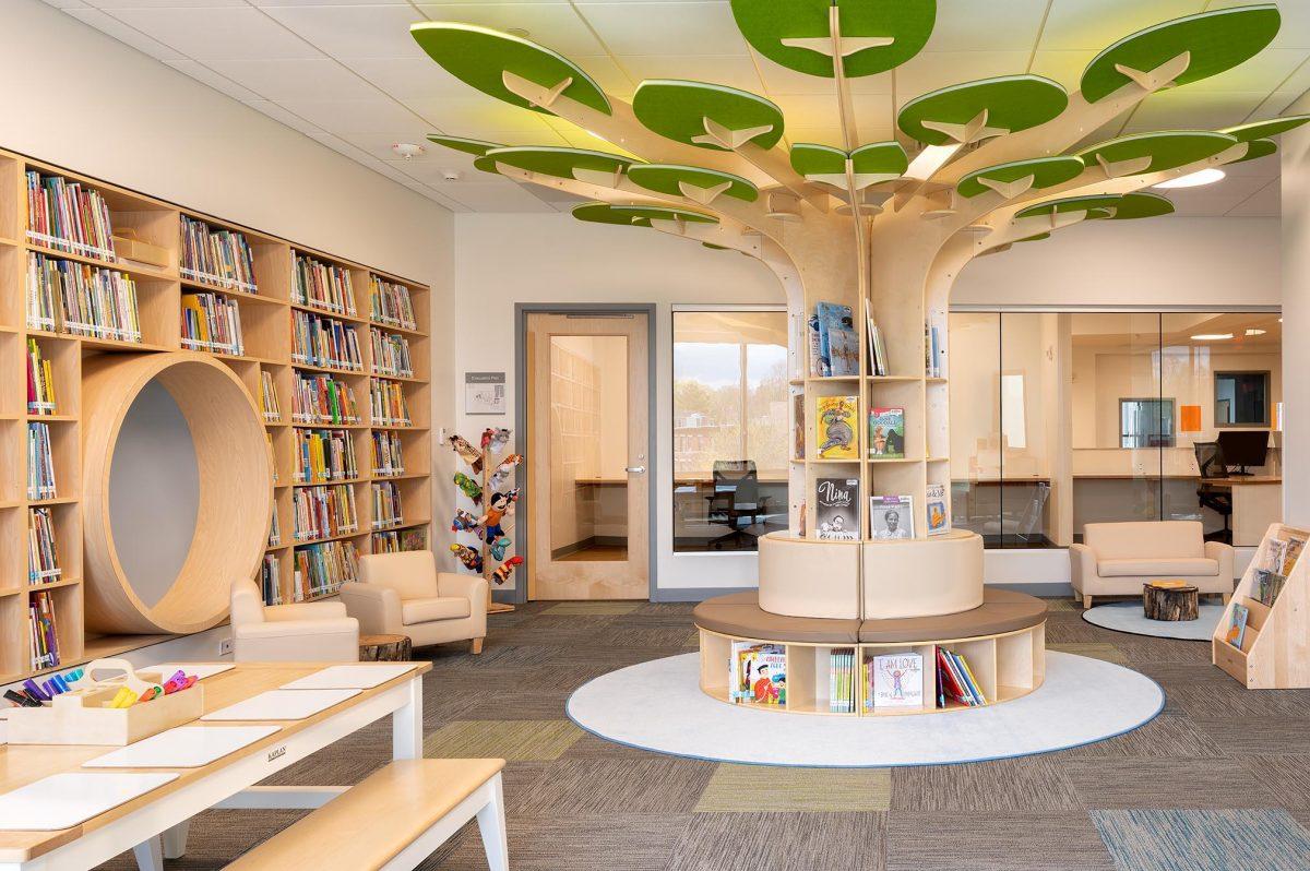 Edgerley Center Library Credit: Rosemary Fletcher